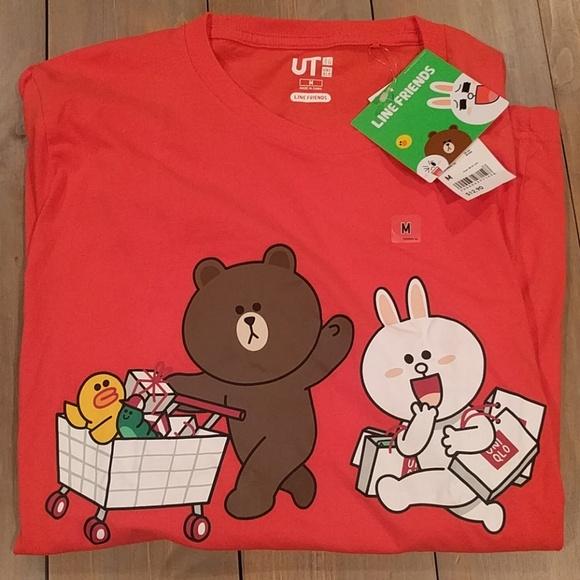 ad7102bd9b75 Uniqlo Line Friends T Shirt